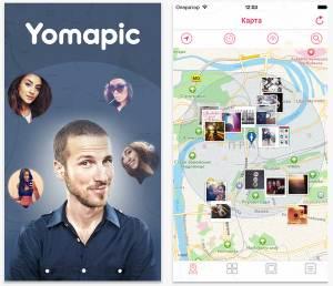Yomapic - фотографии вокруг тебя
