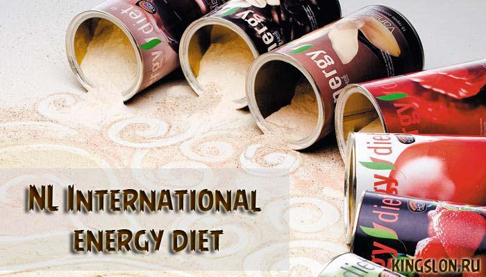 NL International energy diet