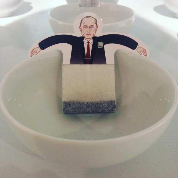 """""""Чай с политиками"""" Владимир Путин заваривает чаек"""