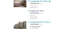 Объявление о продаже квартиры на Avito без фотографий